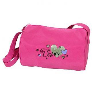Horizon Dance Little Girls Pink Dancing Hearts Duffel Bag