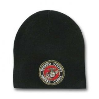 Military Beanie   United States Marines Corps Black