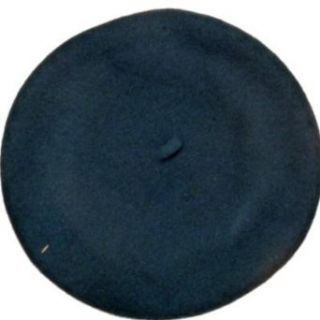 Merona Womens Colorful Blue Hat Turquoise Wool Beret