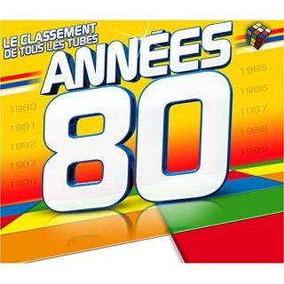 LE CLASSEMENT DE TOUS LES TUBES ANNEES 80   Achat CD COMPILATION pas