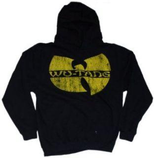 Wu Tang Clan   Logo Hoodie Sweatshirt Clothing