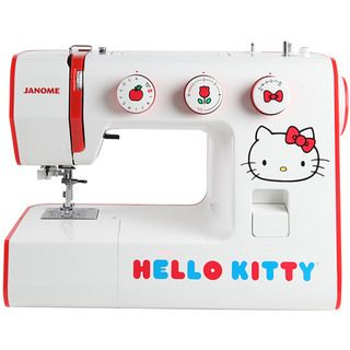Janome Hello Kitty 15822 Heavy duty Aluminum 22 stitch Sewing Machine