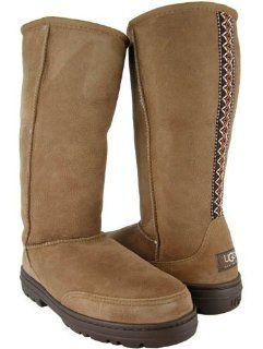 UGG Australia Womens Ultra Tall Chestnut Boot (8) Shoes