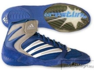 Adidas Tyrint III mens wrestling shoes 11.5 NEW Blue Shoes