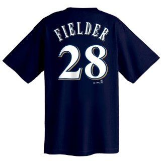 Prince Fielder Milwaukee Brewers Name and Number T Shirt