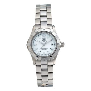 TAG Heuer Womens Aquaracer Stainless Steel White Mother of Pearl