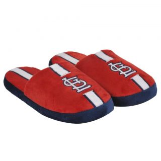St. Louis Cardinals Striped Slide Slippers