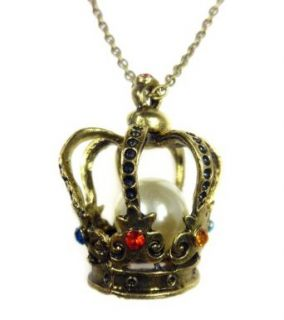 TdZ Royal Crown with Pearl Necklace Clothing