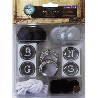 Vintage Collection Typewriter Value Party Pack Bottle Caps