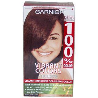100% Color #415 Soft Mahogany Brown by Garnier Hair Color