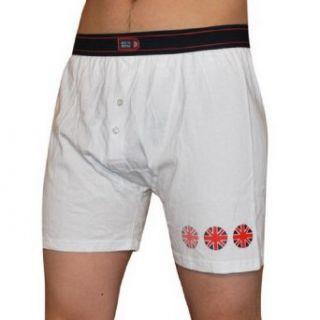 Mens Best Of British Button Fly Boxer Shorts / Underwear