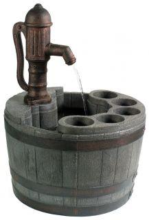 Little Giant Whiskey Barrel Planter