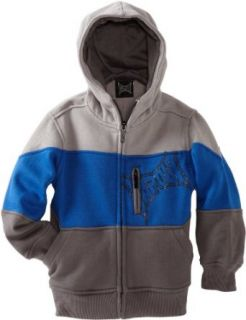 Tapout Boys 2 7 Tri Fecta Charcoal Hoodie Clothing