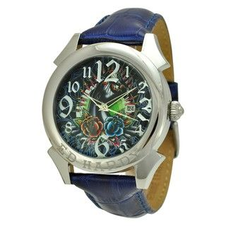 Ed Hardy Mens Revolution Panther Watch