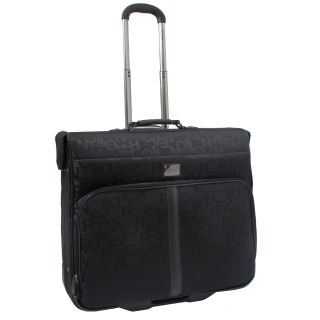 Kenneth Cole Reaction Taking Flight Black Wheeled Garment Bag