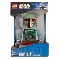 LEGO Star Wars Boba Fett Mini figure Alarm Clock