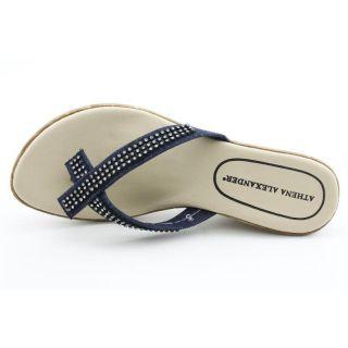 Athena Alexander Womens Roxi 2 Blues Sandals (Size 8)