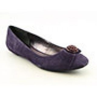 Etienne Aigner Womens Woodrow Purple Flats & Oxfords
