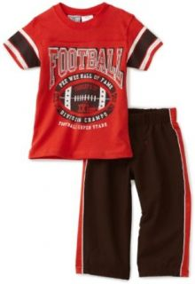 Little Rebels Baby Boys Infant Football Knit And Woven