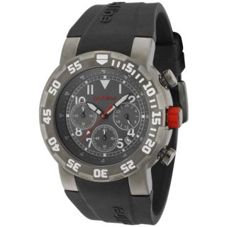 Red Line Mens RPM Black Silicone Watch