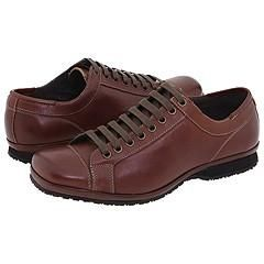 Kenneth Cole Reaction Shift Work Brown Leather Oxfords