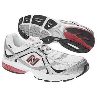 New Balance Mens MR 661 (White/Silver/Red 10.0 D) Shoes