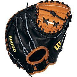 Wilson Sports A2000 Pudge Catcher Mitt   Right Hand Throw