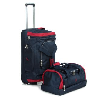 Nautica Charter 2 Piece Checked/Carry On Luggage Set