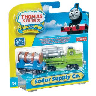 Fisher Price Thomas and Friends Sodor Steamworks Toy Train Engine