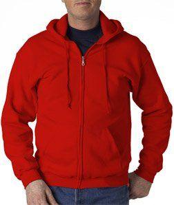 Zip Up Hooded Sweatshirt  Premium Hoodie With Zipper