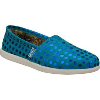 Womens Skechers BOBS World Care Blue