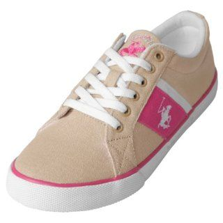 Beverly Hills Polo Womens Two Tone Lace up Sneakers Shoes