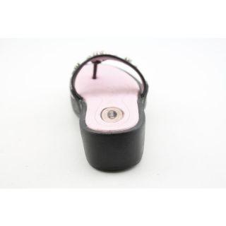 Dr. Scholls Girlss Treasure Blacks Sandals (Size 2)