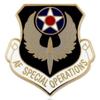 U.S. Air Force Special Operations Pin Clothing
