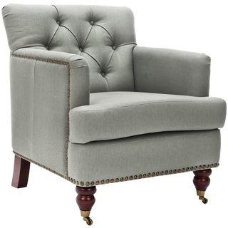 Manchester Green Grey Club Chair