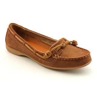Sebago Womens Felucca Lace Full Grain Leather Casual Shoes