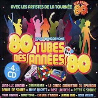 80 TUBES DES ANNEES 80 (4CD)   Achat CD COMPILATION pas cher