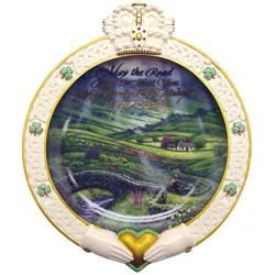 May the Road Rise to Meet You Collectible Plate