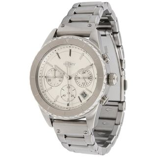 DKNY Womens Mother of Pearl Dial Chronograph Watch