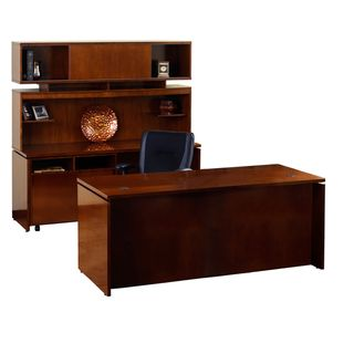 Mayline Stella Series Toffee Finish Workstation