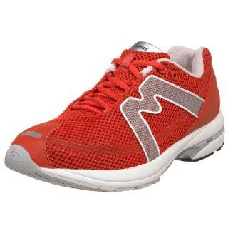 Karhu Womens Fast Fulcrum Ride Running Shoe,Red/Silver,11 M US Shoes