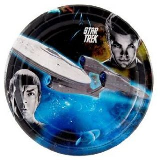 Star Trek Dinner Plates (8 count) Party Accessory