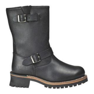 Mens Roadmate Boot Co. 830 10in Engineer Boot Black Oil Full Grain