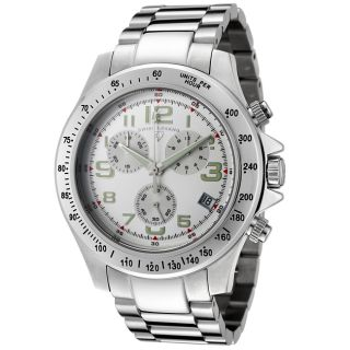 Swiss Legend Mens Eograph Stainless Steel Chronograph Watch
