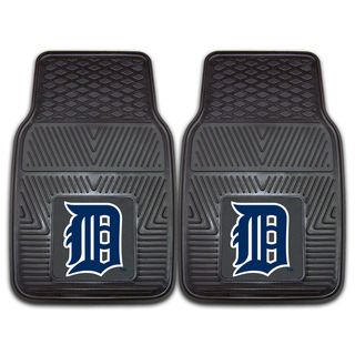 Fanmats Detroit Tigers 2 piece Vinyl Car Mats