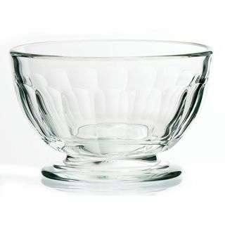 La Rochere Clear Glass 6 piece Appetizer Bowl Set
