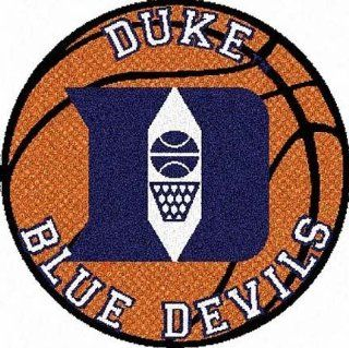 Duke Blue Devils 24 Basketball Shaped Rug Sports