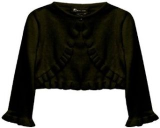 Bonnie Jean Girls 7 16 Sweater,Black,Small Clothing