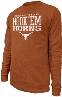 NCAA Mens Texas Longhorns First And Ten Long Sleeved
