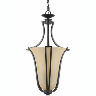 Greco English Bronze 2 light Pendant